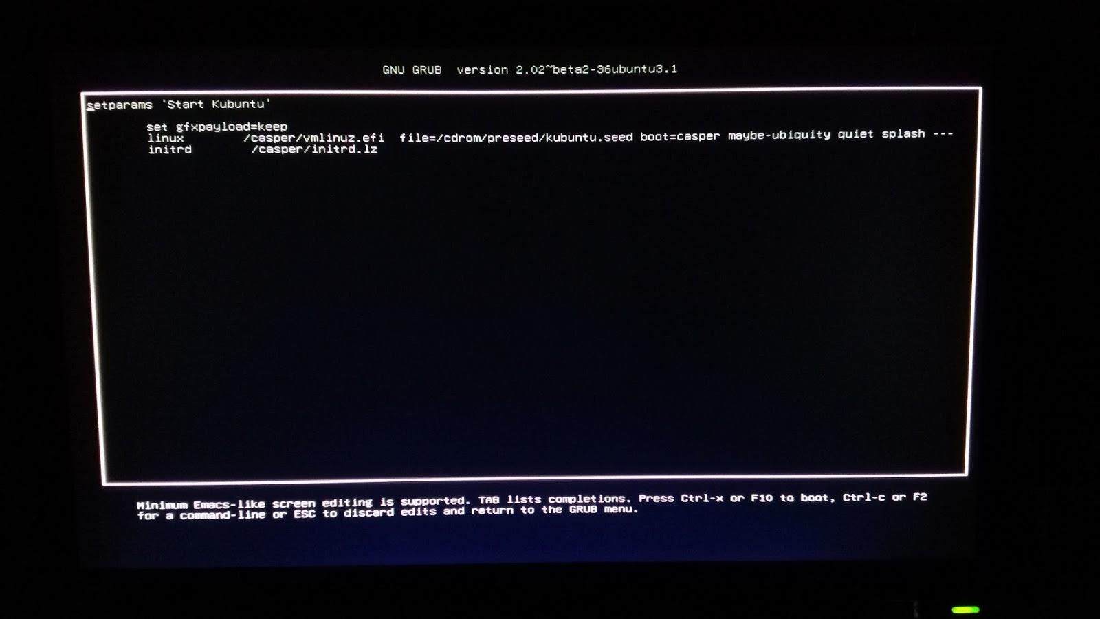 Libernix: Solucionar problema de frecuencia (Out of range