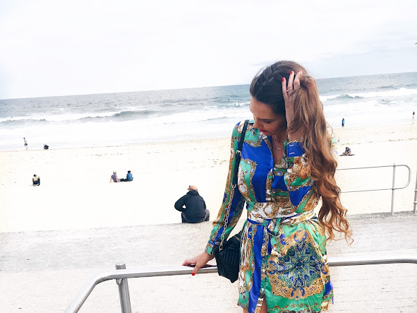 An event at Bondi Beach and Spring Fashion OOTD