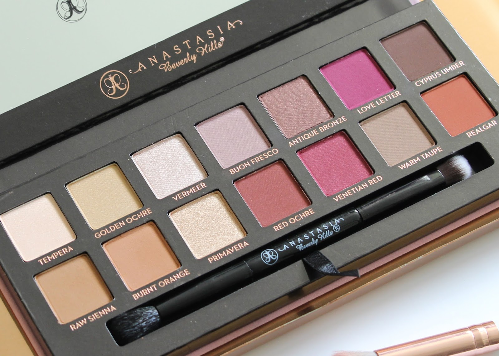 Modern Renaissance Eye Shadow Palette by Anastasia Beverly Hills | Review & Swatches