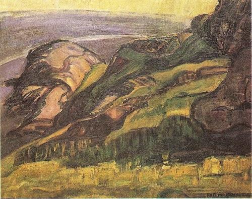 Rochedos - Anita Malfatti e suas principais pinturas ~ Pintora brasileira