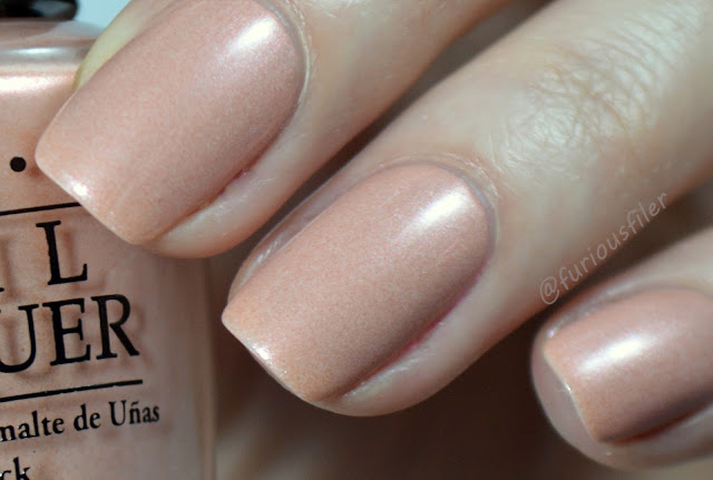 opi new orleans swatch humidi-tea shimmer nude review