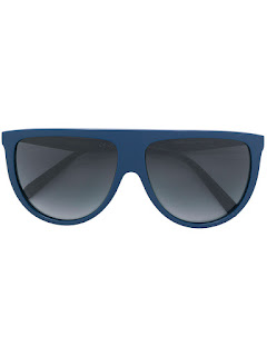 replica celine eyewear blue acetate oversized sunglasses