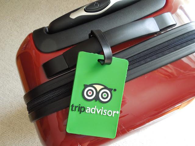 Trip Advisor luggage tag