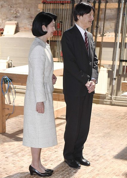 Crown Prince and Crown Princess visited the workshop of Nikari, a wood design studio and furniture manufacturer