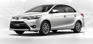 Harga Toyota Vios di Pontianak Silver Metallic