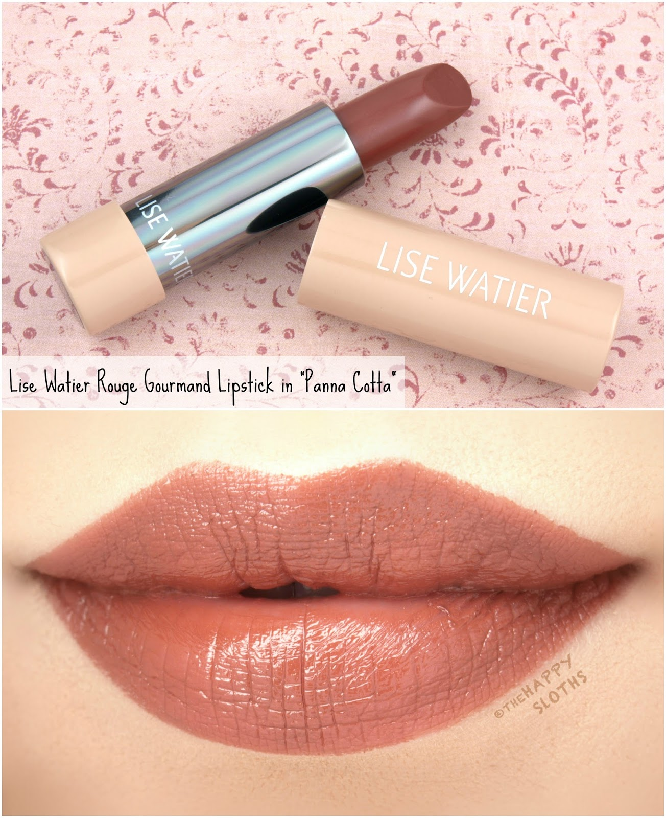 "Lise Watier | Rouge Gourmand The Nudes Lipstick in ""Panna Cotta"": Review and Swatches"