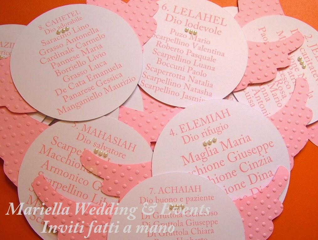 Ben noto Mariella Wedding & Events Inviti : INVITO BATTESIMO TEMA 'ANGELI' GJ14