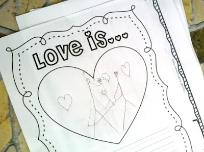 Writing activity, what is love