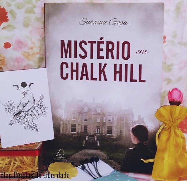 Resenha, livro, Misterio-em-Chalk-Hill, Susanne-Goga, Jangada, blog-literario, petalas-de-liberdade, capa, trecho