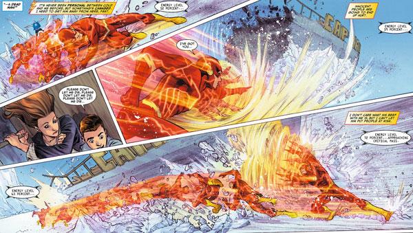 daftar kekuatan flash dc