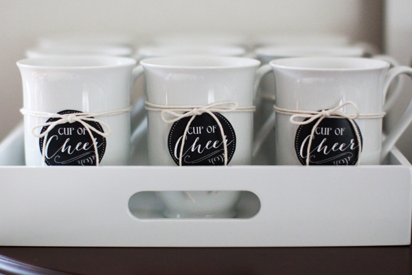 Cups of cheer for a DIY hot cocoa bar