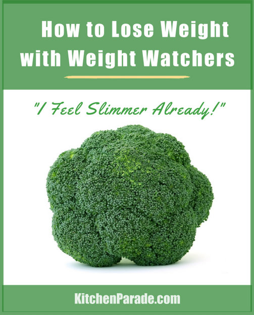How to Lose Weight With Weight Watchers, practical tips, resources & recipes ♥ KitchenParade.com