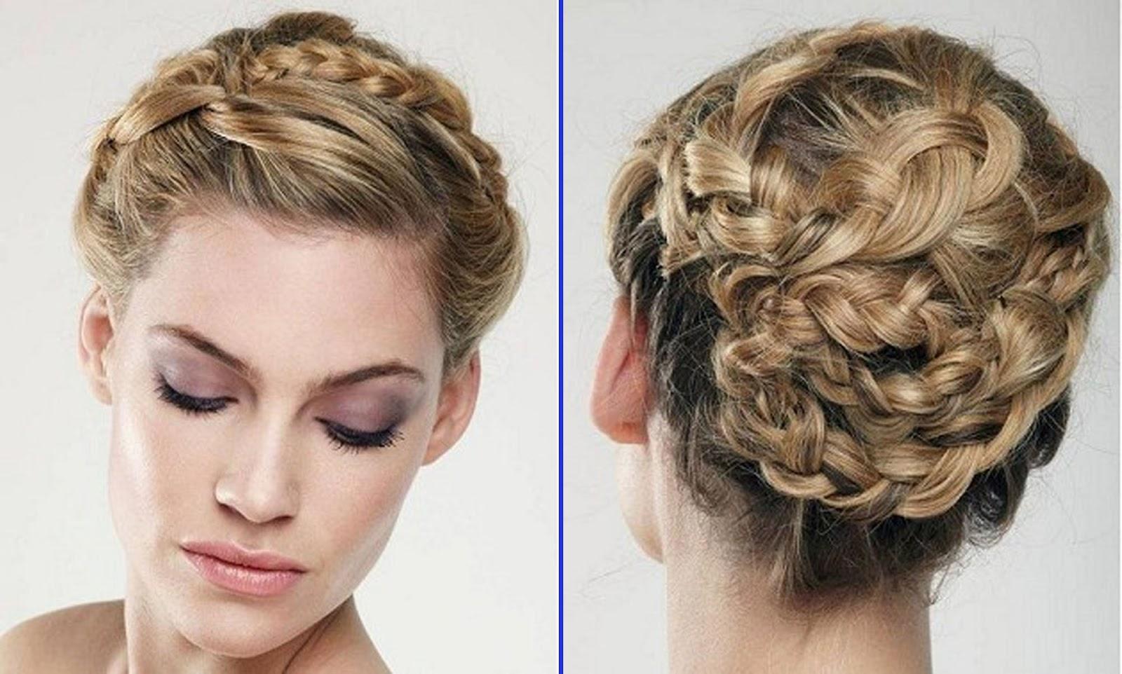 Flowers Wedding Hairstyles 2012
