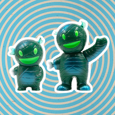 San Diego Comic-Con 2020 Exclusive Jade Mummy Boy Vinyl Figures by Super7