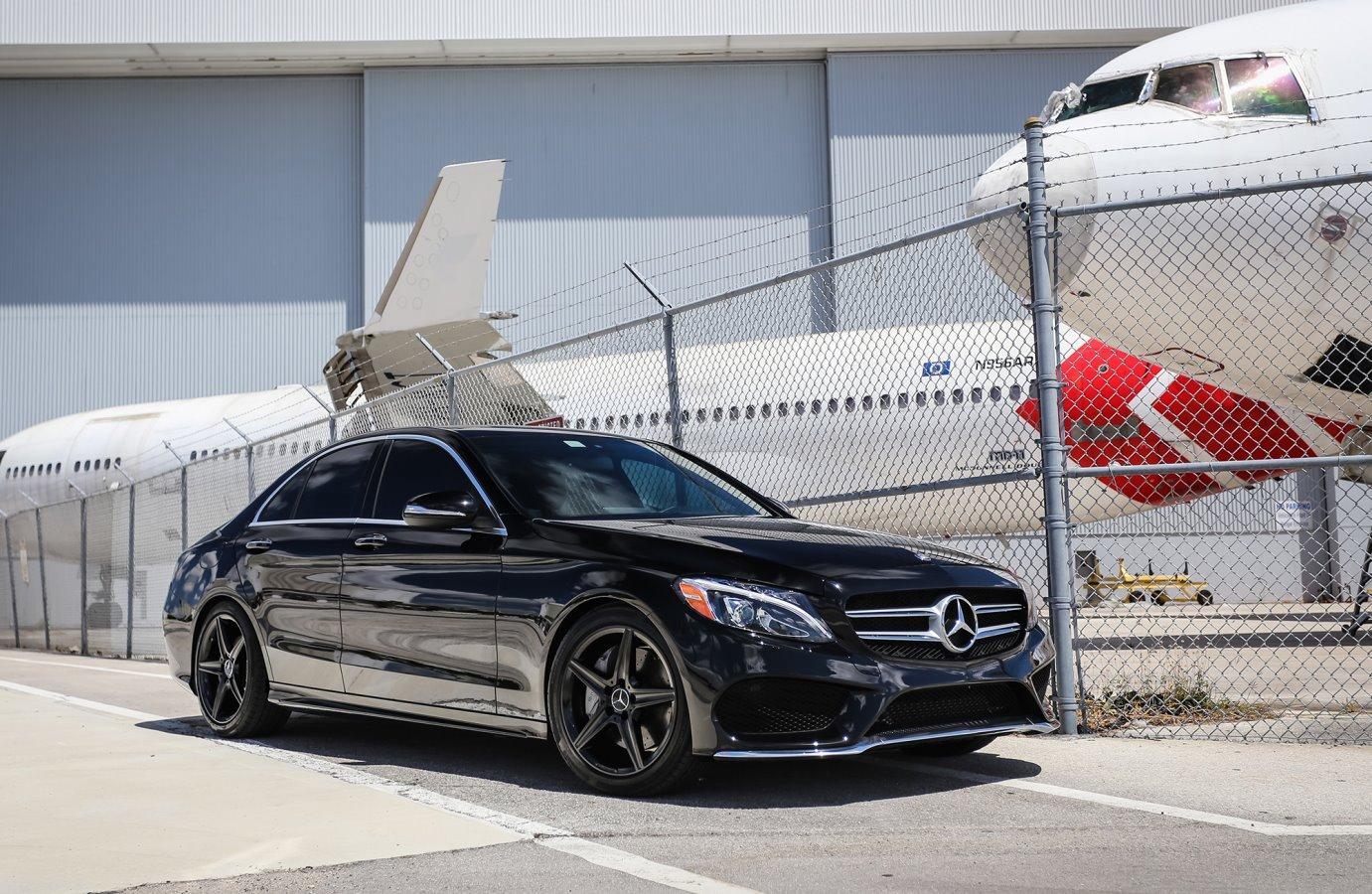 Mercedes-Benz W205 C300 on OEM Weels | BENZTUNING