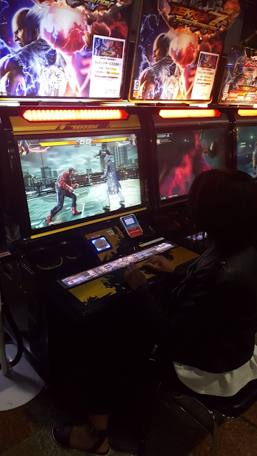 Tekken 7 game arcade Japan