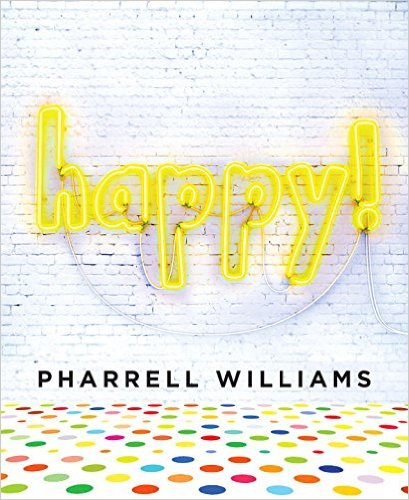 Happy Pharrell Williams Lyrics in His New Book