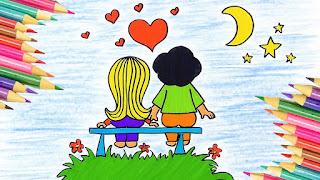 Qué es el amor para los niños dibujo