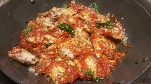 Pollo Di Parmigiana Basilico