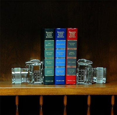 DSLR Camera Bookends