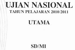 Soal UN SD 2011