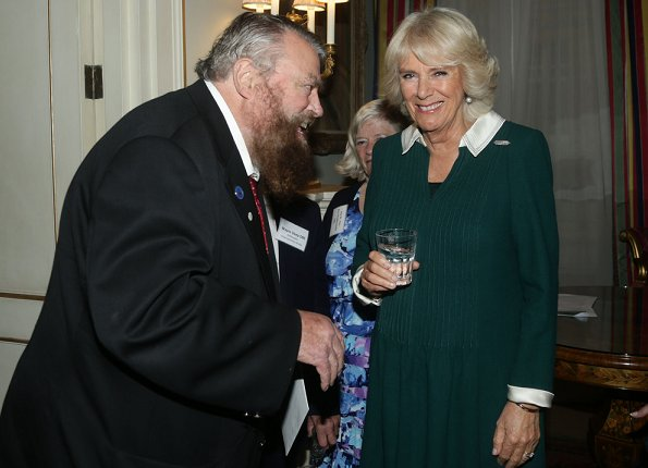 Duchess Camilla hosted a reception for Our Amazing People.Duchess Fashion, Style Kate Middleton, Cambridge