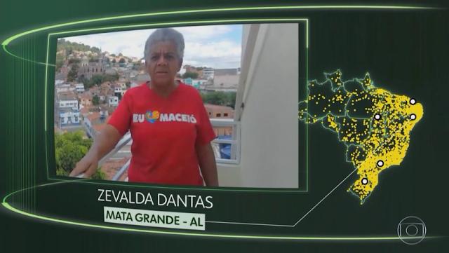 """Moradora de Mata Grande/AL, tem vídeo exibido no Jornal Bom Dia Brasil, no quadro """"O Brasil que eu quero"""""""