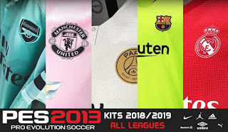 PES 2013 Kitpack New Season 2018-19 For All Leagues