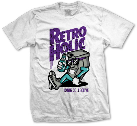 8b6c8ac8b668ab Pick up this exclusive t-shirt by DME Clothing to match your Jordan Retro 5