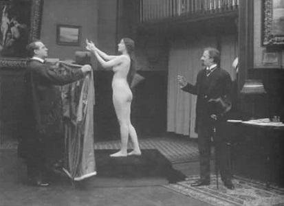 İlk Çıplak Film Sahnesi: Audrey Munson