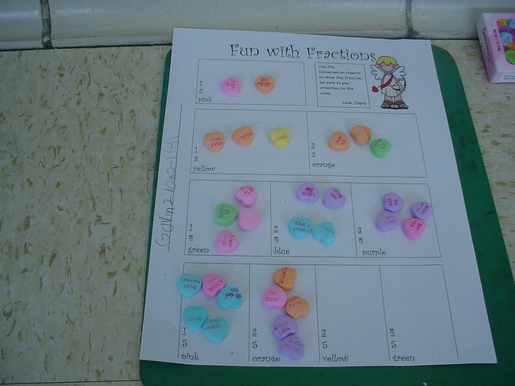 Diary Of A First Grade Teacher Fractions With