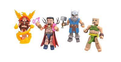 Walgreens Exclusive Avengers 1,000,000 B.C. Minimates Series by Diamond Select Toys x Marvel