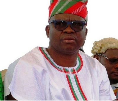 Gov. Fayose Fires Missiles at EFCC for Surrounding Femi Fani-Kayode's House