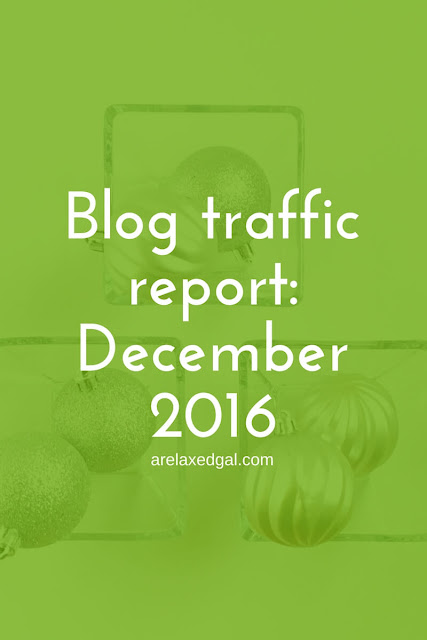 December was an interesting month for my blog and social media stats. See why. | arelaxedgal.com