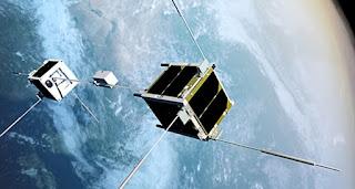 اليابان تطلق مصاعد فضاء مصغرة تجربه اولي قبل بناء مصاعد تصل من الارض الي الفضاء بدلا من الصواريخ