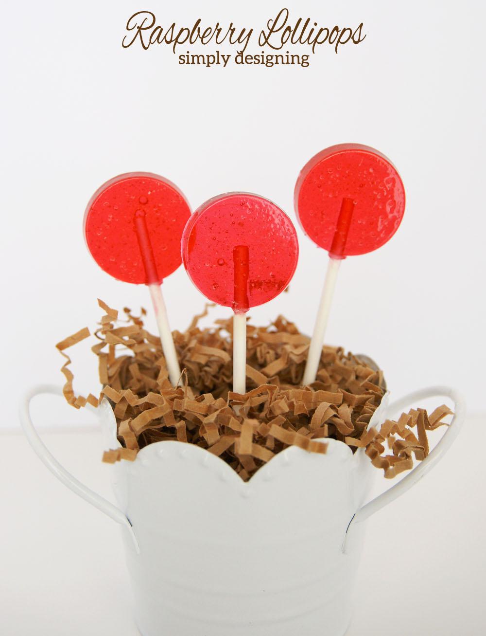 raspberry+lollipops Chocolate-Dipped Raspberry Lollipops 15