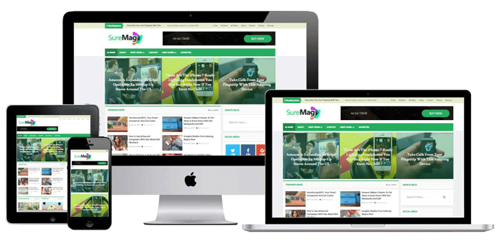 First ever fully responsive professional blogger template free.