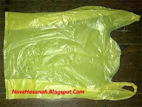 cara membuat bunga dari kantong plastik bekas