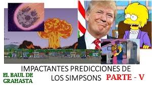 Impactantes Predicciones de los SIMPSONS parte V