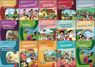 UpDate Koleksi Buku dan Siswa Kelas 1 SD Kurikulum Pendidikan 2013 Edisi Revisi 2017