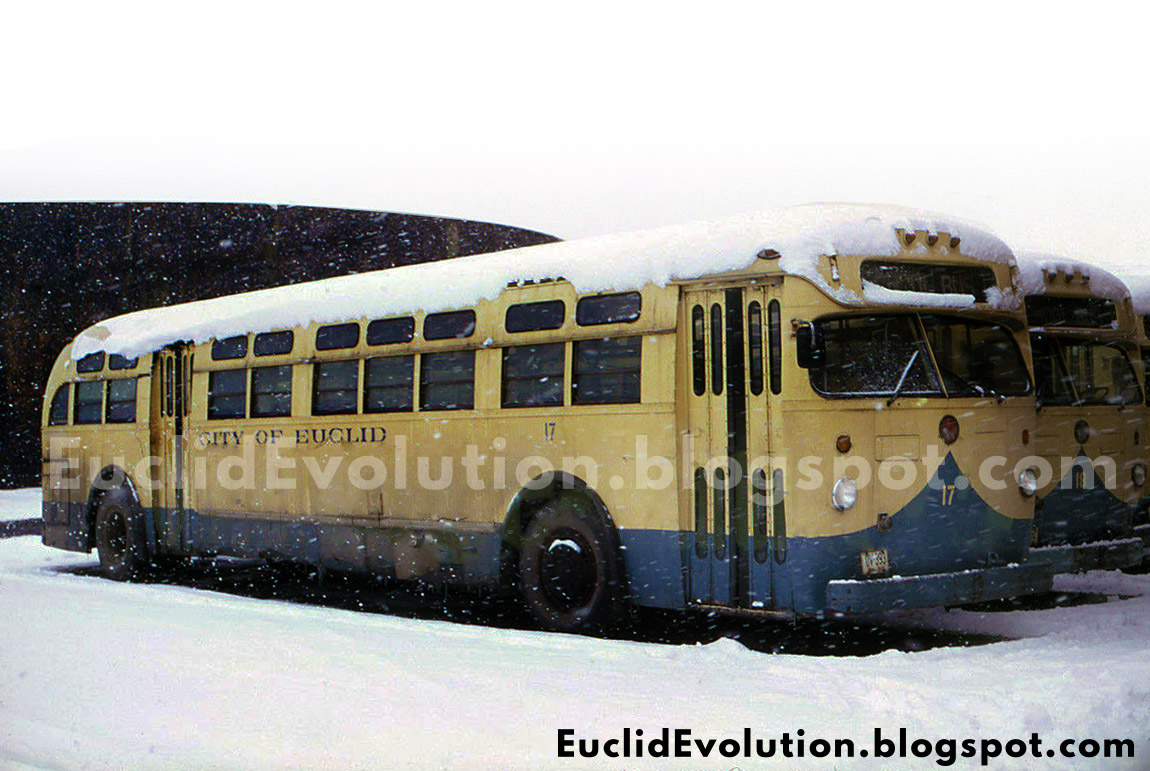 Euclid Evolution: Euclid (and an RTA) Buses of Yesteryear