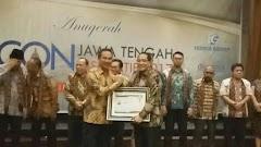 Firman Soebagyo Dianugerahi Ikon Jawa Tengah Inspiratif