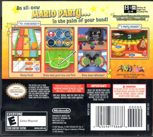 Mario Party 3 Rom