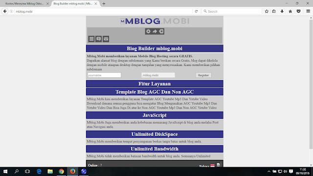 Mblog.Mobi Blog Builder Indonesia Terbaru