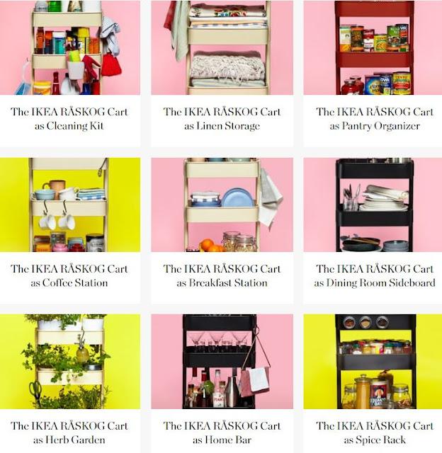 http://www.thekitchn.com/search?q=IKEA+R%C3%85SKOG+Cart%2C+10+Ways