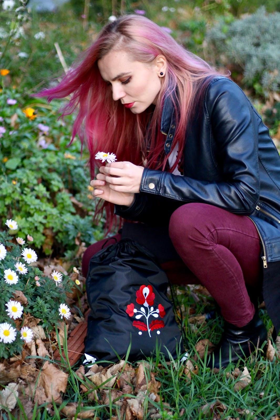 ružové vlasy, fasion blog slovensko