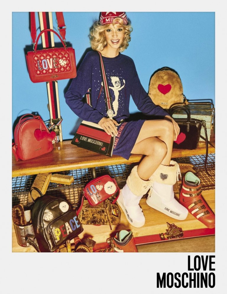 LOVE Moschino Fall Winter 2018 Campaign