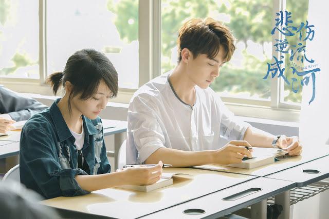 Cry Me A Sad River Chinese TV series Zheng Shuang Ma Tianyu
