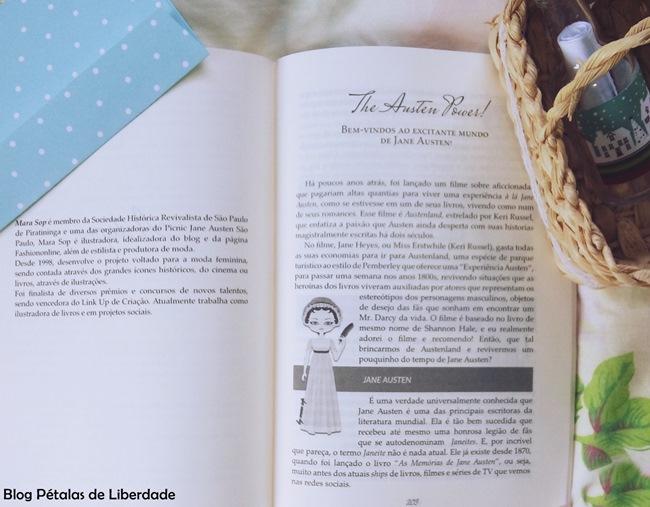Resenha, livro, Querida-Jane-Austen-uma-homenagem, Leque-Rosa, Editora-Bezz,