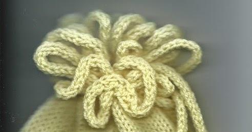 Marzipanknits Machine Knit Flower Hat